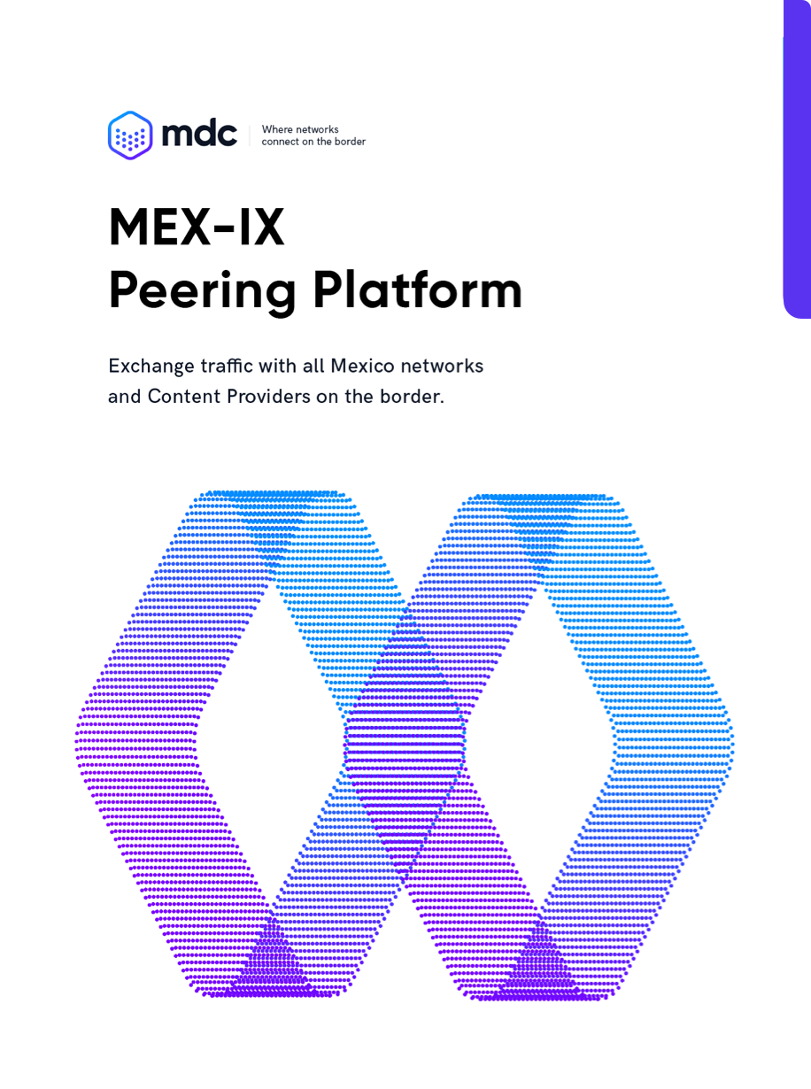 Peer with all mexican networks